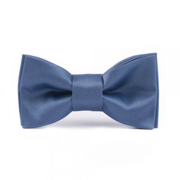 muszka męska niebieska