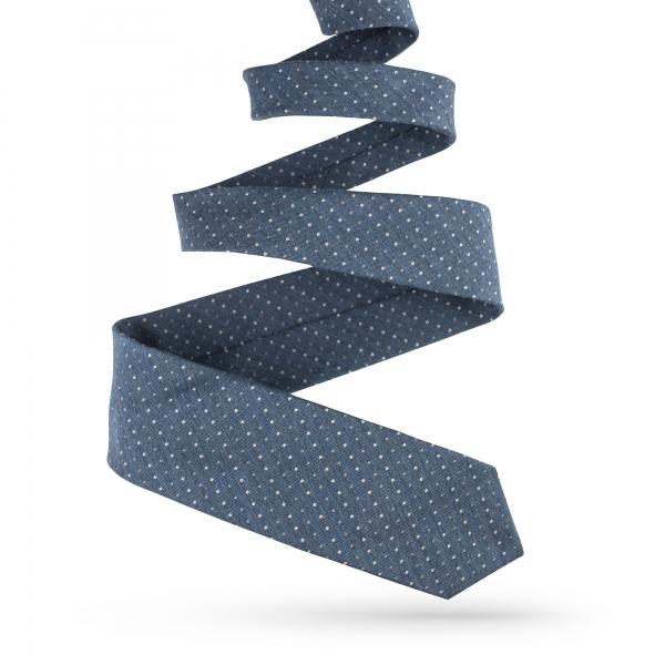 Krawat męski jedwabny