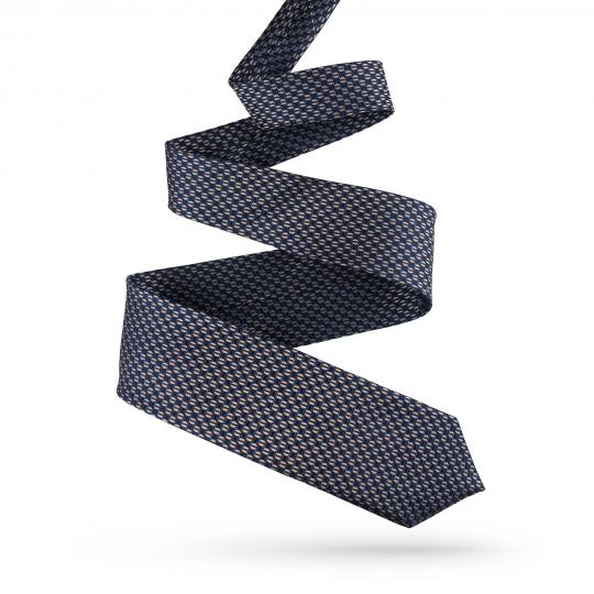 Krawat męski we wzory